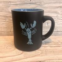 Maine Scene The Blue Lobster Matte Mug