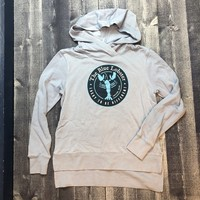 Sherry The Blue Lobster Funnel Neck Hoodie