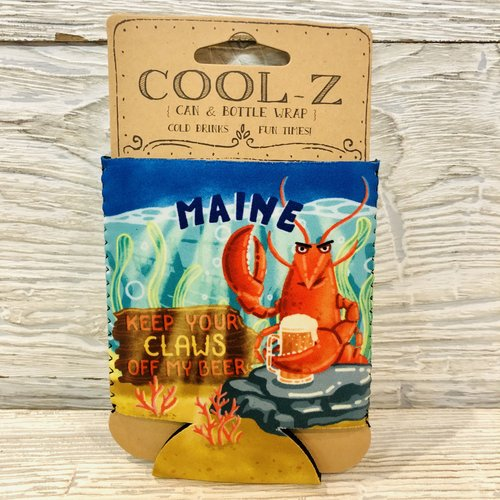 Maine Scene Keep Your Claws Off My Beer! Can Coozie