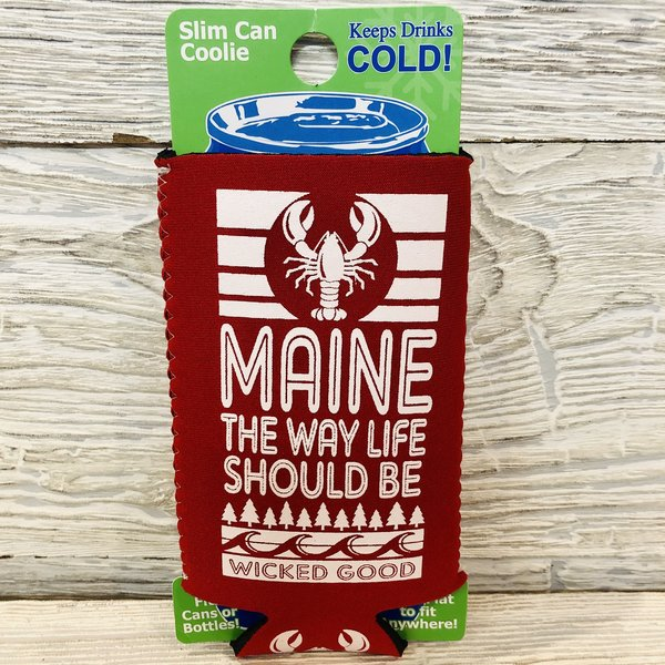 Entertainya Cabana Lobster Slim Can Coozie