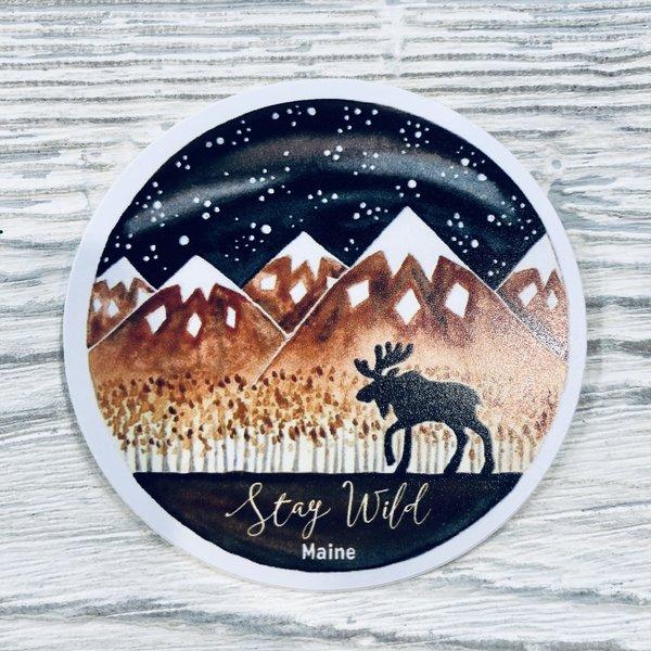 Bumwraps H20 Moose Sticker