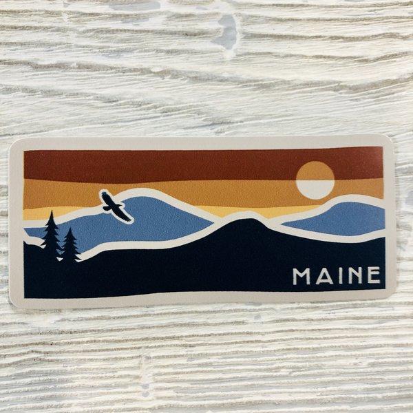 Bumwraps Free Mountain Sticker