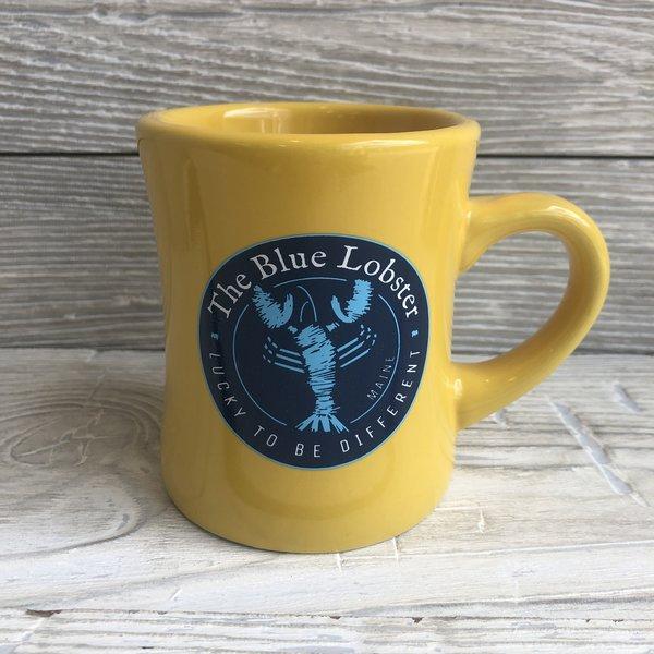 Entertainya The Blue Lobster Diner Mug Yellow