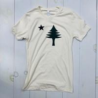 Bumwraps Old Maine Flag T-shirt