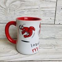 Maine Scene Lobster Roll Mug