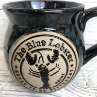 Maine Scene The Blue Lobster Bean Pot Mug