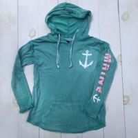 MV Left Chest Anchor w/ Maine Hoodie