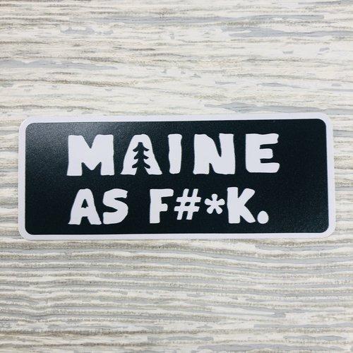 Bumwraps State AF-Sticker