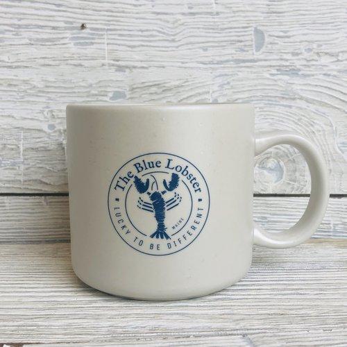 a&F The Blue Lobster Glamper Mug- White
