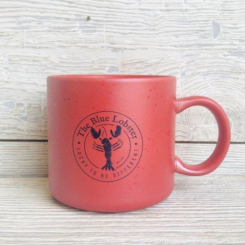 a&F The Blue Lobster Glamper Mug- Red