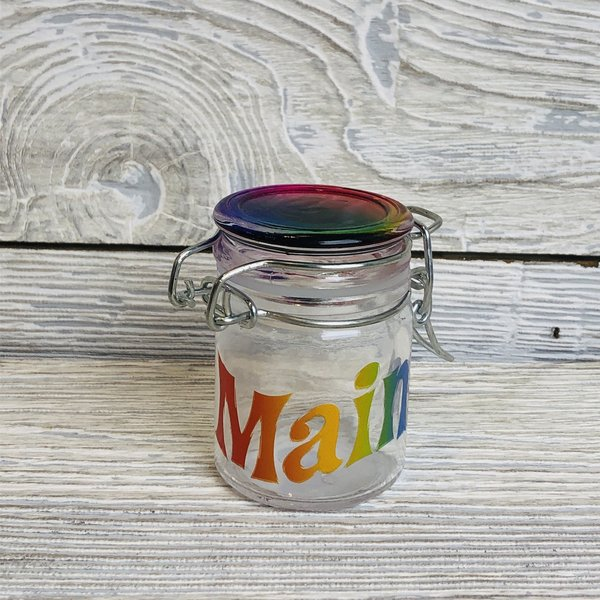 Maine Scene 04-Mini Storage Jar