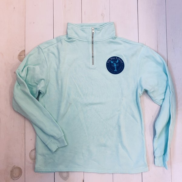 Lake Shirts The Blue Lobster 1/4 Zip Pullover