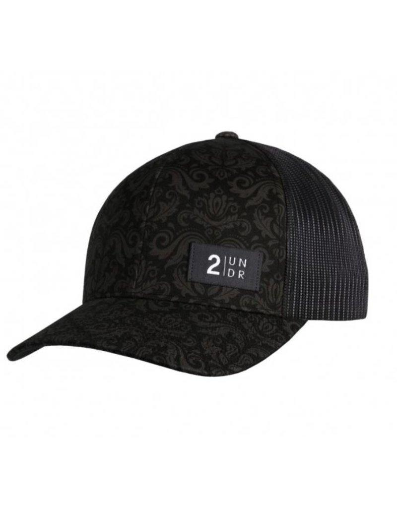 2UNDR 2UNDR Snap Back Hat - Rococo