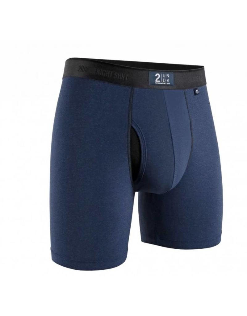 """2UNDR 2UNDR Night Shift 6"""" Boxer Brief- 4 Colors Available!"""