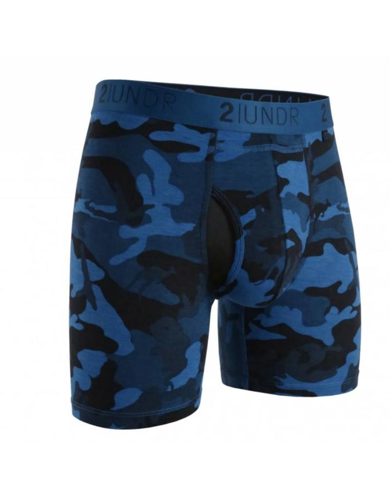 "2UNDR 2UNDR The Swing Shift 6"" Boxer Brief- 12 Colors Available!"