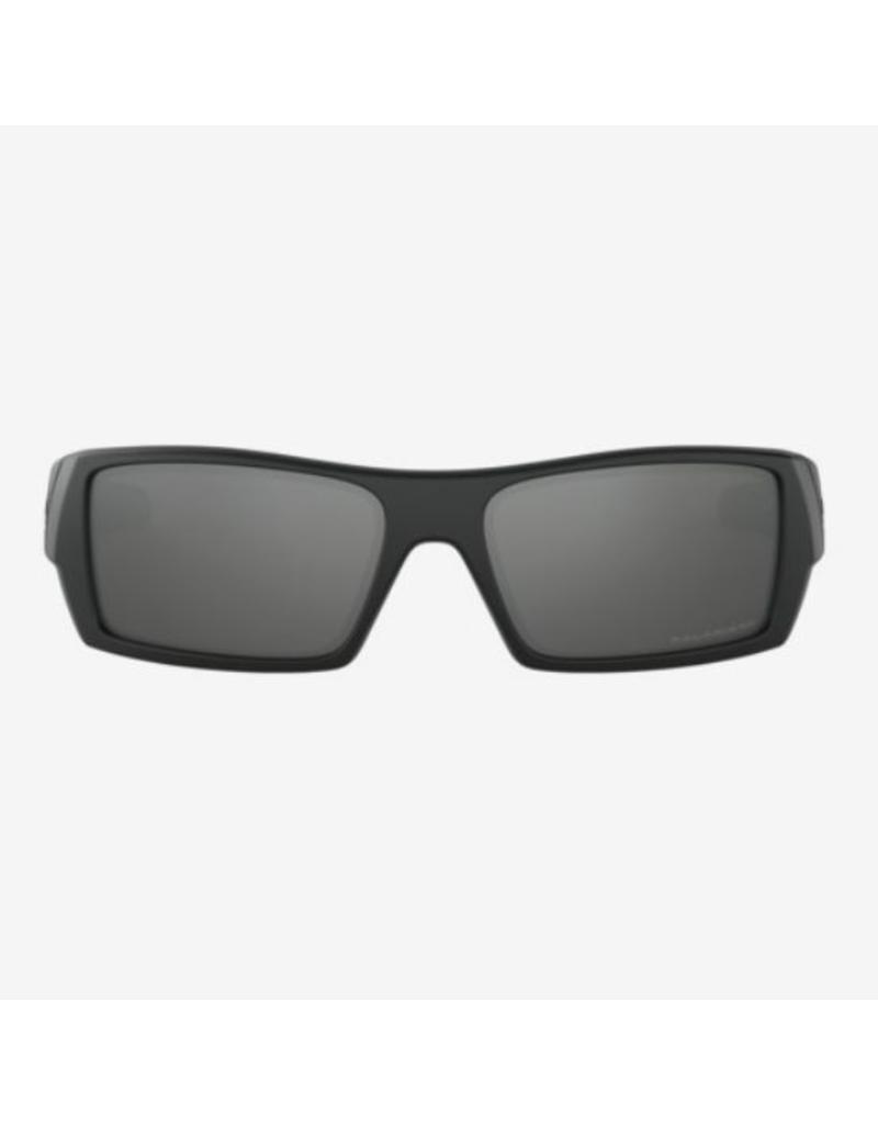 7a685a2a6d4 Oakley Gascan Matte Black - Black Iridium Polarized Lens - Leading ...