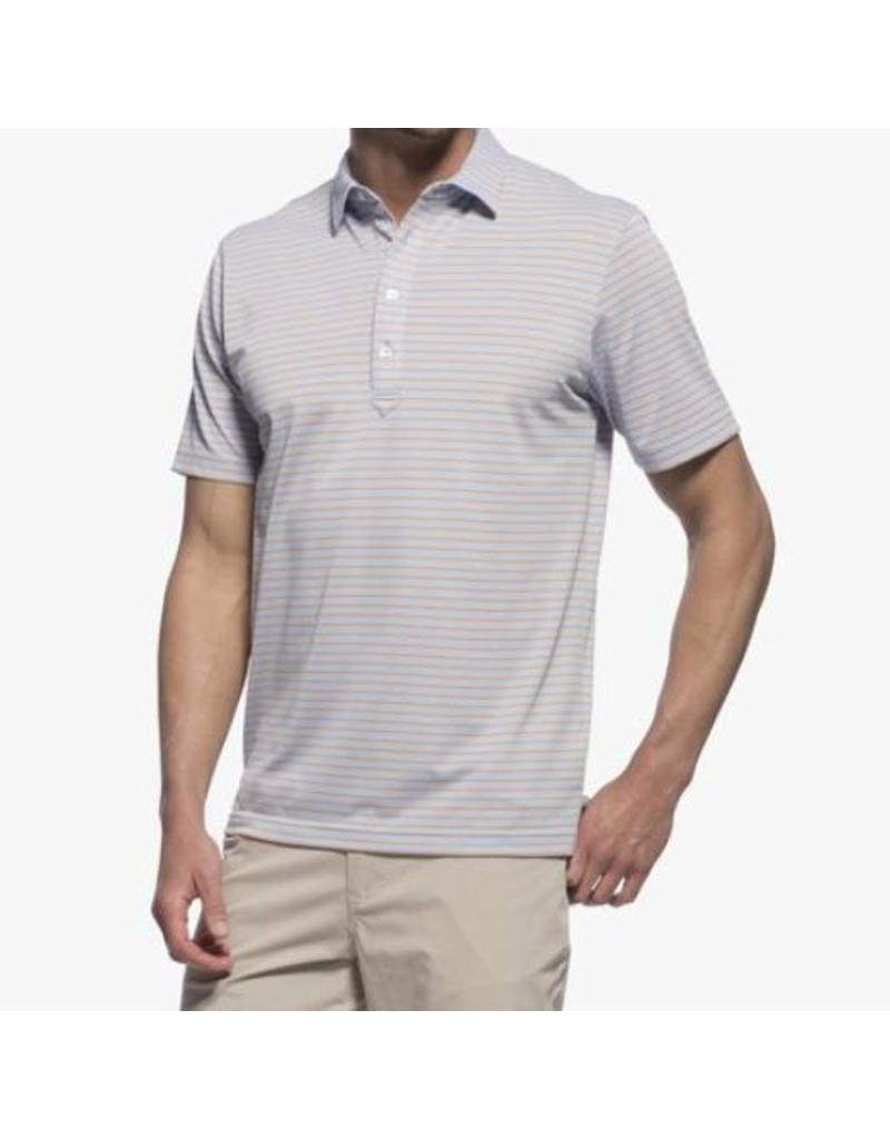 Johnnie-O Johnnie-O Striped Prep-Formance Pique Polo-             2 Colors Available!