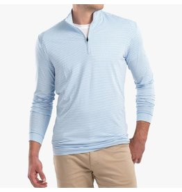 Johnnie-O Johnnie-O Turn Striped Prep-Formance 1/4 Pullover