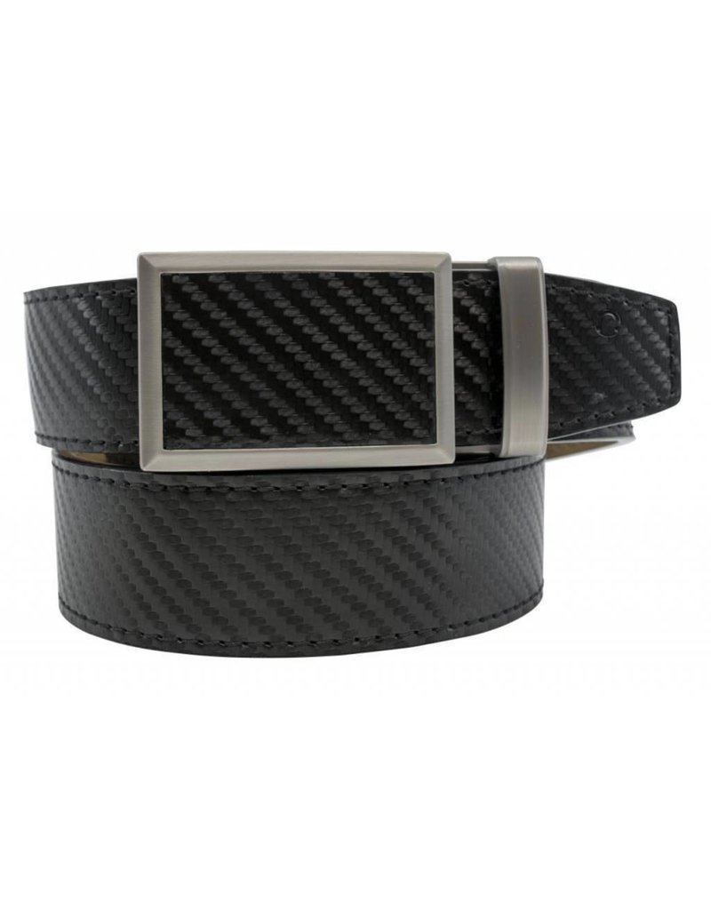 Nexbelt Fast Eddie Carbon Black Belt Leading Edge Golf