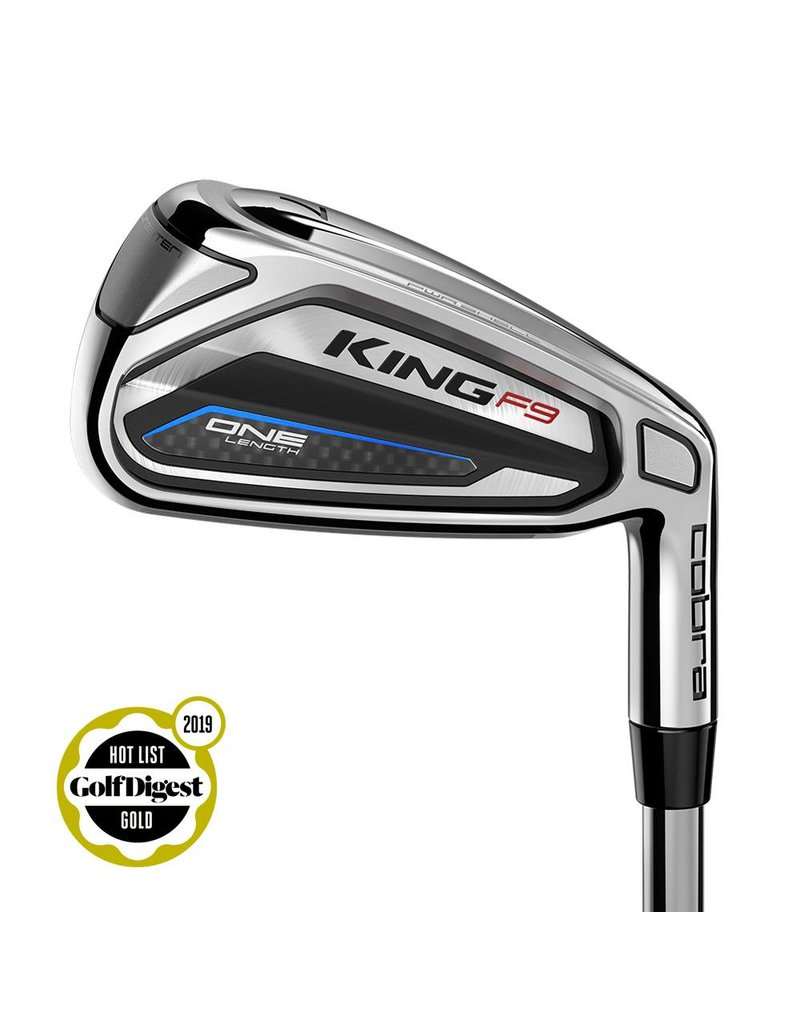 Cobra Cobra KING F9 SPEEDBACK One-Length Irons - Right-Handed