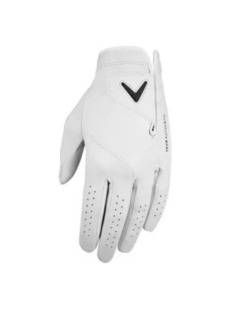Callaway Callaway Tour Authentic Men's Left Handed Glove White 2019