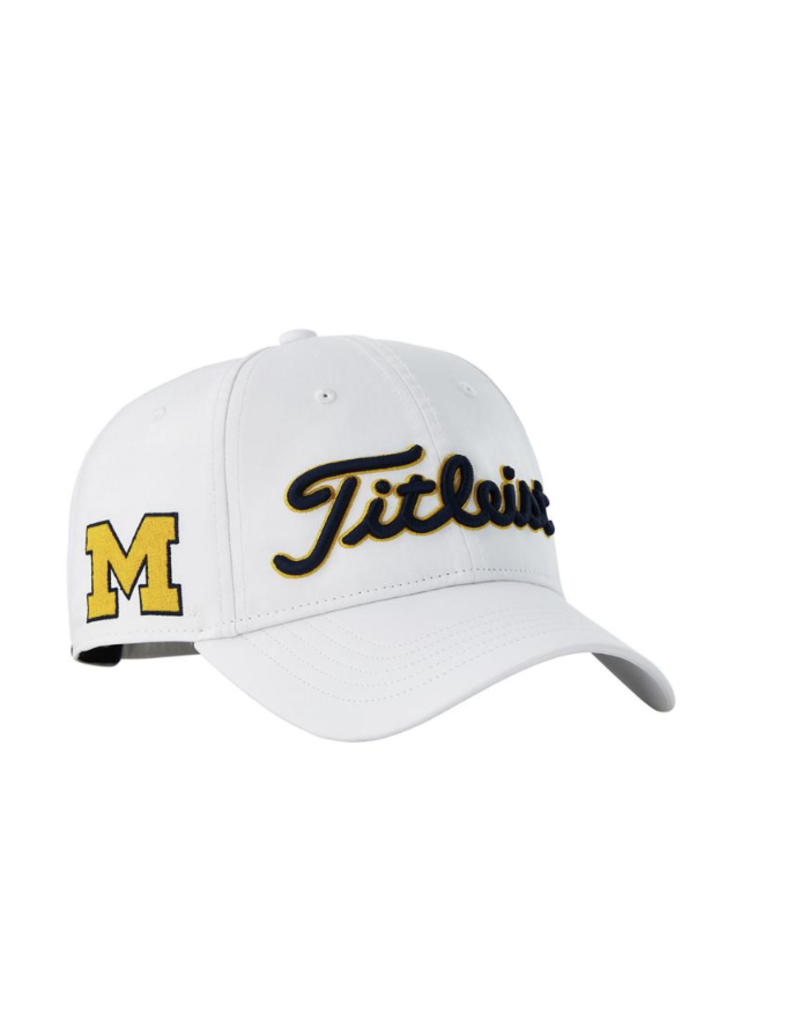 Titleist Titleist Tour Performance Collegiate Cap Michigan