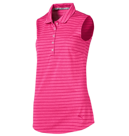 Puma Puma Rotation Stripe Sleeveless Golf Polo