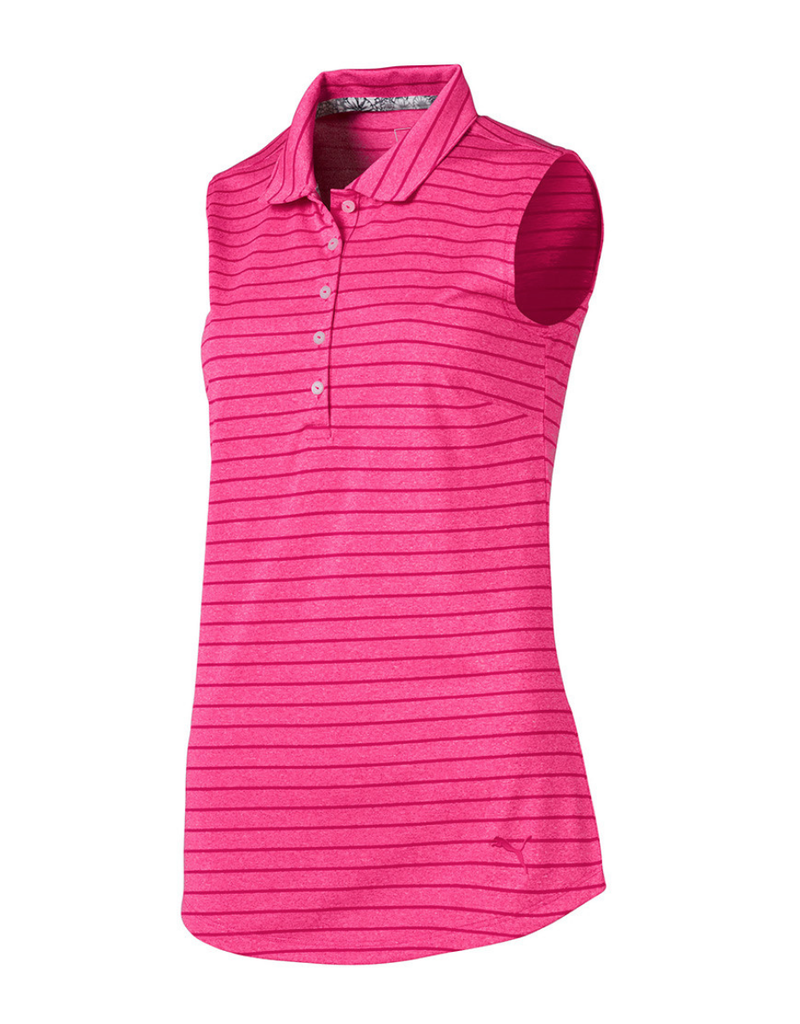 Puma Puma Rotation Stripe Sleeveless Golf Polo