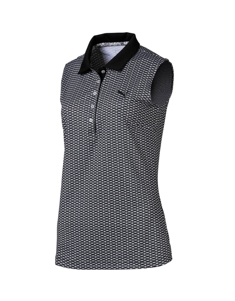 Puma Puma Dawn Sleeveless Golf Polo