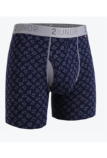 "2UNDR 2UNDR The Swing Shift 6"" Boxer Brief-6 Colors Available!"
