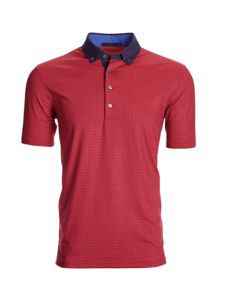 Greyson Greyson Men's Dragonfly Printed Polo