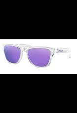 Oakley Oakley Women's Frogskins XS Polished Clear Sunglasses - Violet Iridium