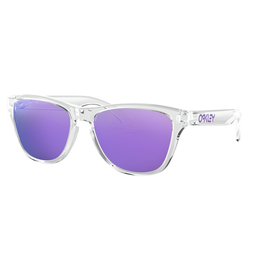 Oakley Oakley Women's Frogskins XS Polished Clear Sunglasses - Violet Iridium