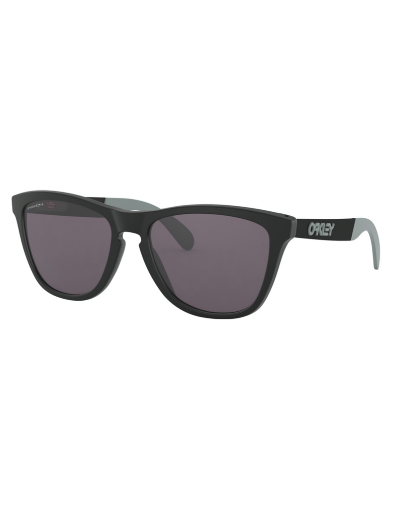Oakley Oakley Women's Frogskins Mix Matte Black- Prizm Grey