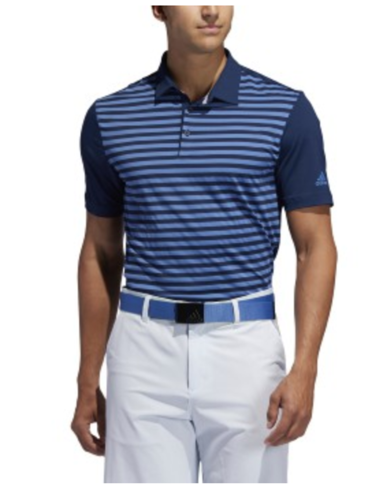 Adidas 2020 Adidas Ultimate365 Striped Polo- 3 Colors Available!