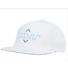 TaylorMade Lifestyle Flatbill Stretch Hat