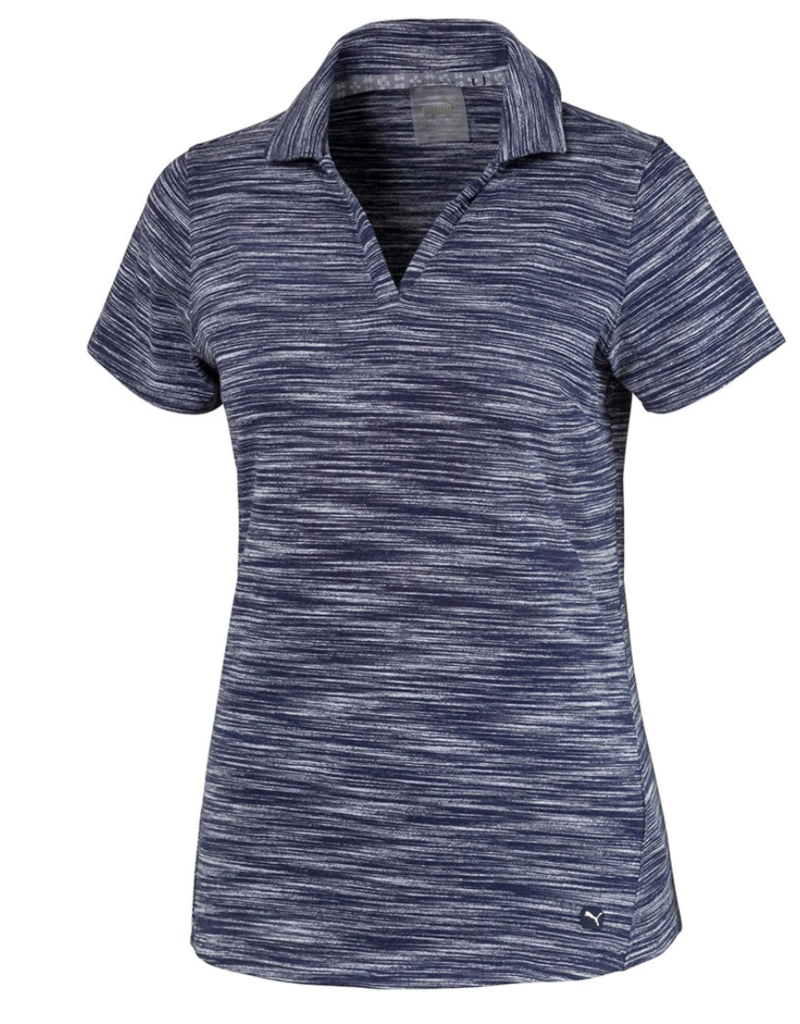 Puma Puma Heather Slub Golf Polo-2 Colors Available!