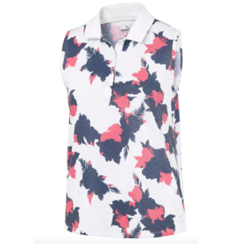 Puma Puma Floral Sleeveless Golf Polo