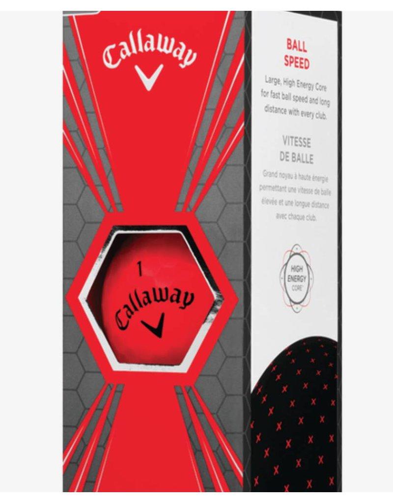 Callaway Callaway Superhot Bold 18 Red Golf Balls - 15pk