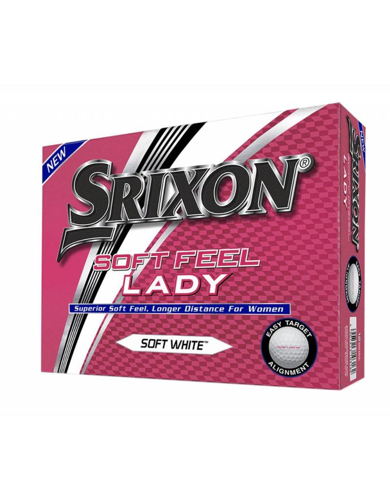 Cleveland/Srixon Srixon Soft Feel Lady Golf Balls 2 Colors Available!