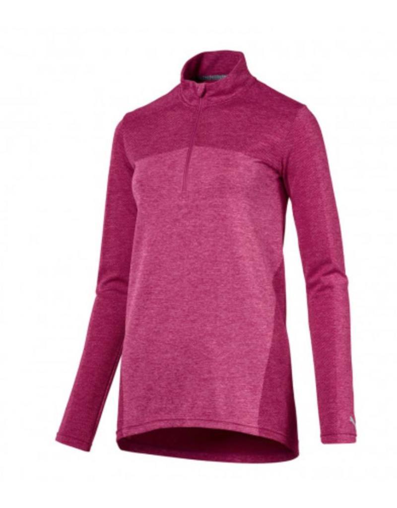 Puma Women s EVOKNIT Seamless 1 4 Zip - Leading Edge Golf 5f2ae5b642