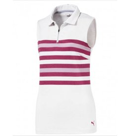 Puma Puma Women's Sleeveless Road Map Golf Polo