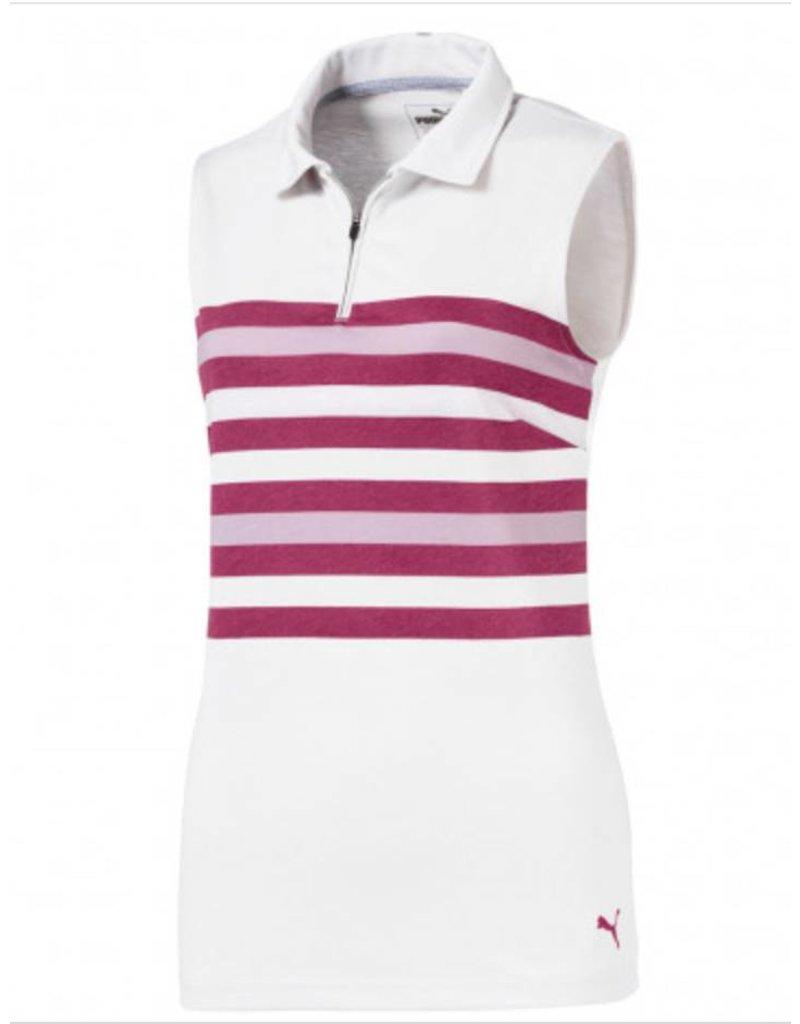 Puma Puma Women's Sleeveless Road Map Golf Polo