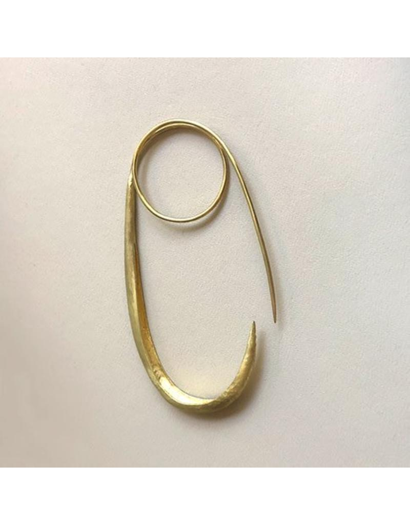 Christina Odegard Matin Épingle (Pin) in 18k Yellow Gold