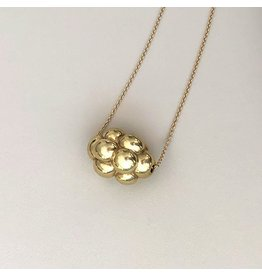 Matin Cluster Necklace in 18k Yellow Gold