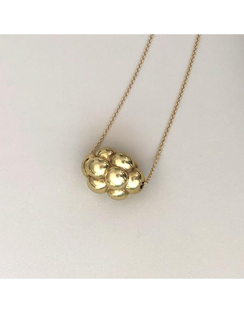 Christina Odegard Matin Cluster Necklace in 18K Gold