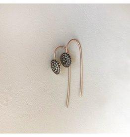 Christina Odegard Matin Eurydice Earrings in 18k Rose Gold