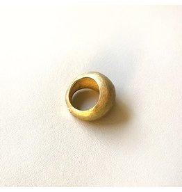 Christina Odegard Matin Dôme Rough Ring in 18K Gold
