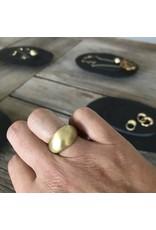 Christina Odegard Matin Dôme Plein Ring in 18K Gold