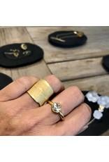 Christina Odegard Matin Myrtus Wide Band Ring in 18K Gold